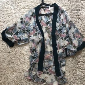 Never Work Target Kimono